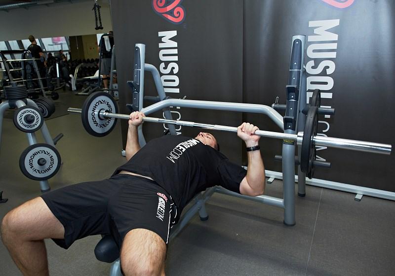 D velopp couch la barre bodybuilding musqle - Pectoraux developpe couche ...