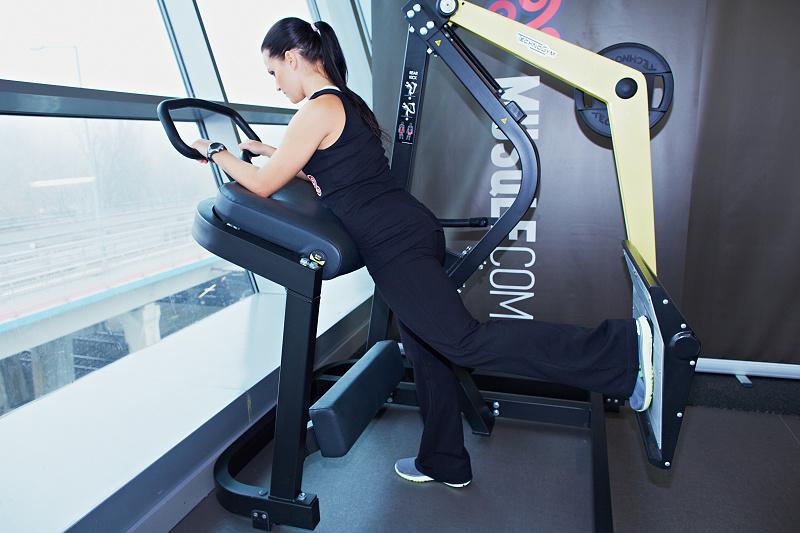 Fessier la machine musqle for Musculation volume